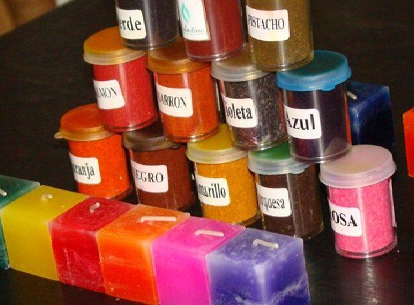 Colorante para velas x 5 grs Creativa – Química Río Cuarto