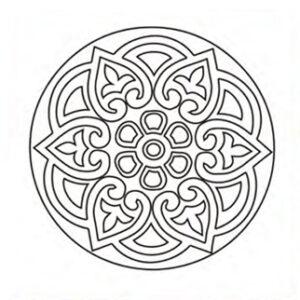 mandala-arabesca