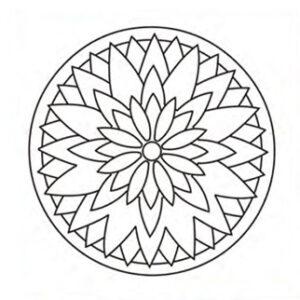 mandala-hoja