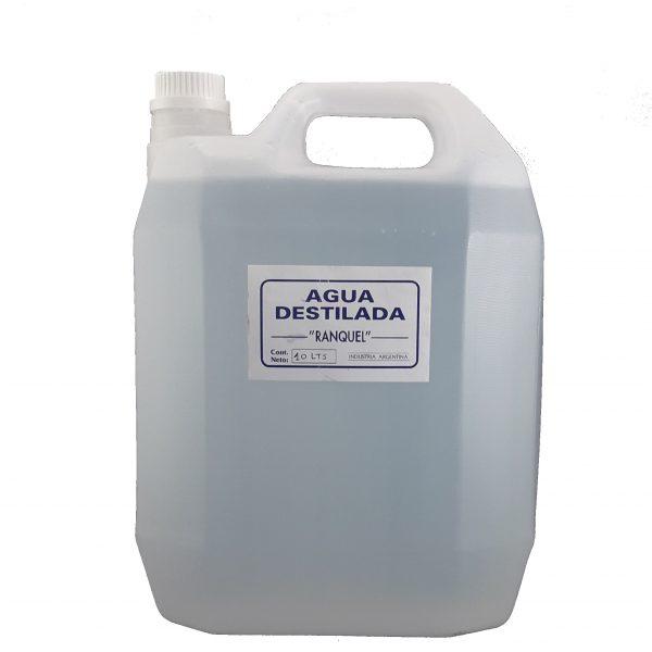 Agua destilada x 10 Lts