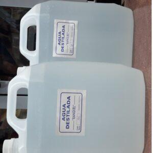 Agua destilada x 10lts