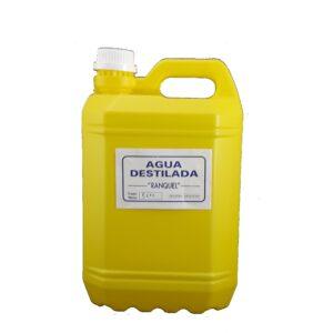 Agua destilada x 5 Lts